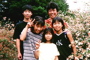 1998年の家族旅行(石川県輪島市)