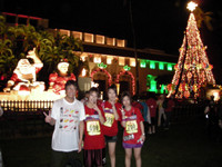 ハワイのクリスマス/ホノルルマラソン
