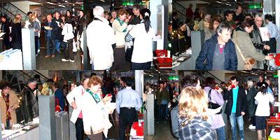 外国人観光客が訪れる京都ハンディクラフトセンター