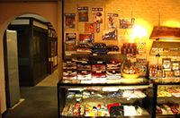 京都シルクの売店